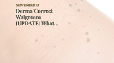 Derma Correct Walgreens (UPDATE: What They Don't Tell You!)