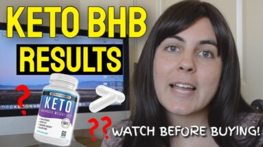 Keto BHB Results (BEFORE & AFTER!) | Keto BHB Pills Review